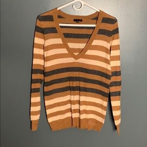 The Limited striped light sweater